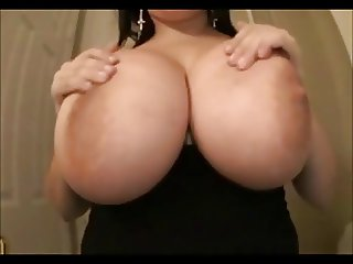 Big boobs at home