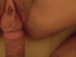 Fucking wifes wet pussy with big pussylips