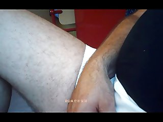 jerking off young Turkish woman
