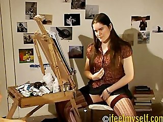 Girls Masturbating Artschool 1