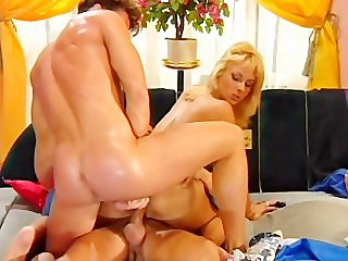 Nasty Blondes And Monster Dicks - Scene 3 - Pink O