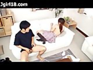 Oversexed Japanese Teen