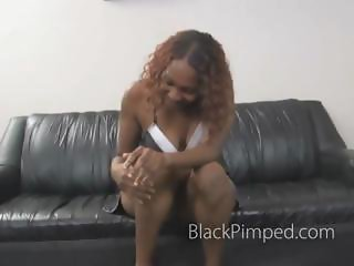 Rough black on black deepthroating with gagging and choking