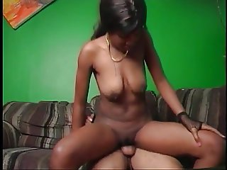Sexy Honey fucking massive black dick