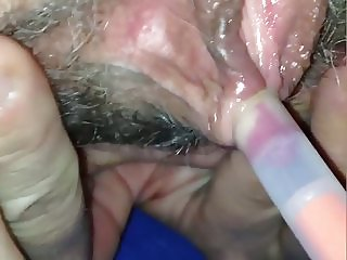 anja, 46 years old..clit torture