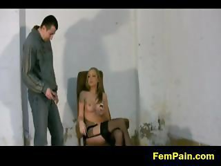Stoic Bianca is back for more BDSM