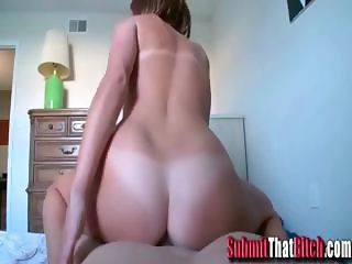 Amateur GF Riding Dick POV