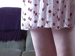 Sissy In Cherry Print Dress