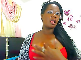 BBW BLACK GIRL JASMIN LIVE CAM 1 (PERSONAL RECORDED)
