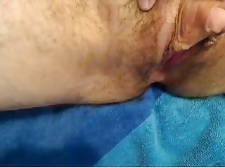 Hairy pussy big clit (no sound)