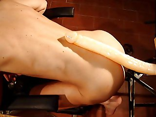 Very long dildo in my ass - Part 1