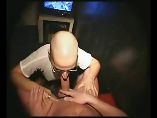 Ugly shaved slut anal