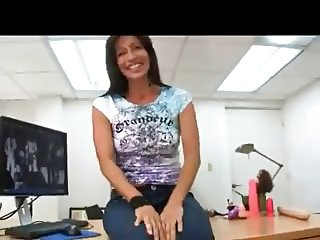Adorable Milf Have Sex In The Office