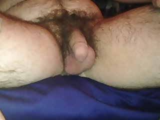 playing with my dick the first time on video