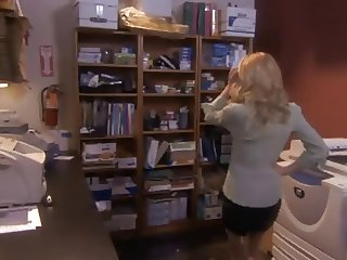 Blonde Secretary Fucked In Office,By Blondelover.