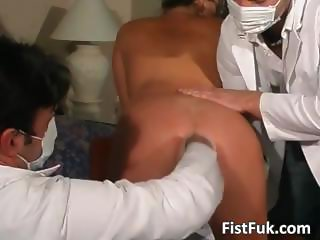 Watch these two kinky doctors as they part3