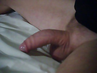 My cock from hard to soft