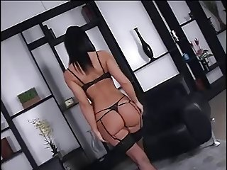 Romanian Girl Anal in Stockings
