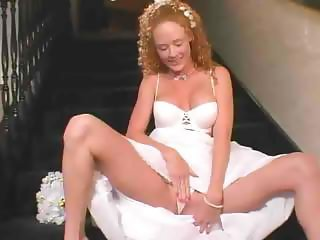 Hot Redhead Bride Gets Her First Anal