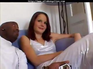 Carol is a lovely babe who gets three black dicks on her first scene and two for her second