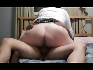 Wife Sucking Then Riding Cock