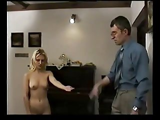 szeck blonde hard spanked by teacher