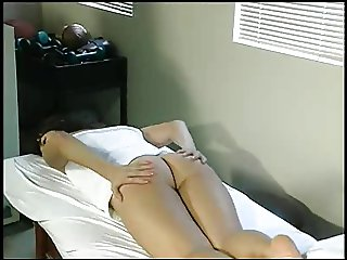 Aunt Gwen spanks Kara in medical office 6