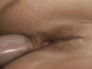 Petite Blonde Strips To Fuck Her Husband's Mighty Cock