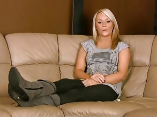 Beautiful British Girl with Stinky Feet