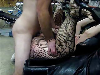 Friend fucking and cumming in my big pussy