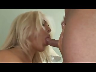 Blonde Housewife Fucks with Pool Cleaner