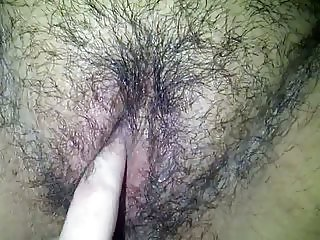 More Fingering of that Hairy Pussy