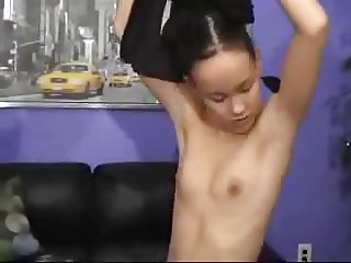 Petite Tight  Asian Getting Fucked