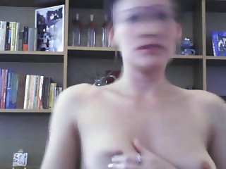 cute brunette naked dance