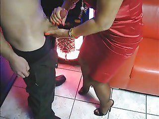 Best Mature makes Hand and Blowjob