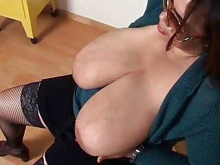Busty latin mother
