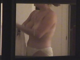 Window Voyeur - Neighbor with big tits