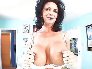 Sexy big titted mature fucked