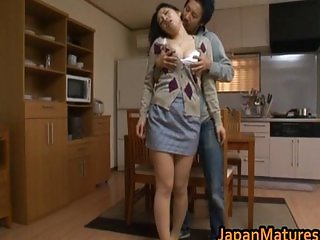 Ayane Asakura mature Asian model has sex