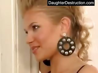 Extreme teen daughter abuse