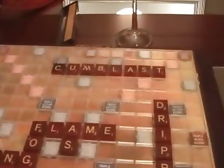 mother & not her son Creampie Scrabble game