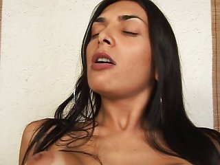 Latino guy fucking sexy tranny