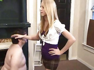 humiliated by the perfect lady