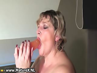 Horny mature mom wearing a sexy part6