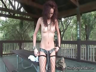 Horny stripper slut showing her pussy part6