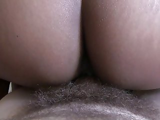 Asian wife gives bj and fucks me reverse cowgirl