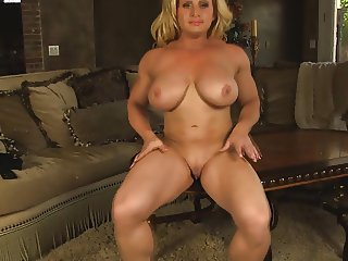 Joanna, Big clit masturbation
