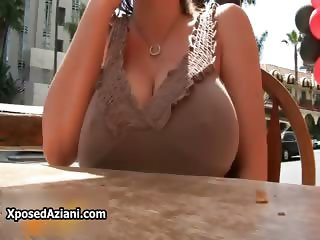 Sara Stone loves showing of her hot big part3