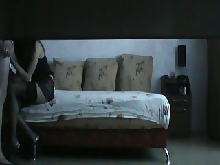 Amateur Brunette Escort Record a Spycam Video During Sex