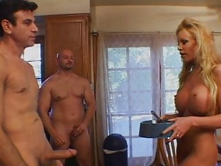 Filthy blonde cum eater pounded